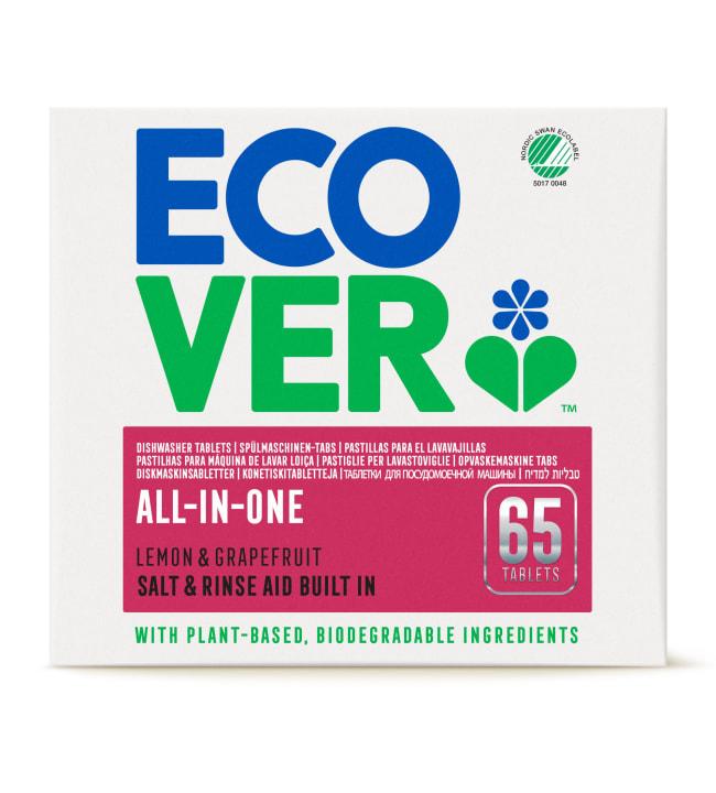 Ecover All-in-One 65 kpl konetiskitabletti