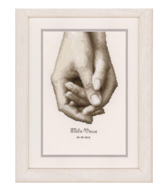 Vervaco Käsi kädessä 17x25 cm ristipistotaulu