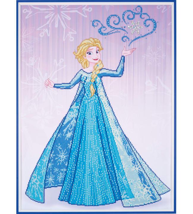 Vervaco Disney Frozen Elsa timanttiaskartelutyö