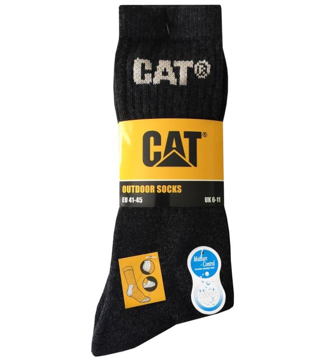 Cat 3-pack miesten outdoor-sukat