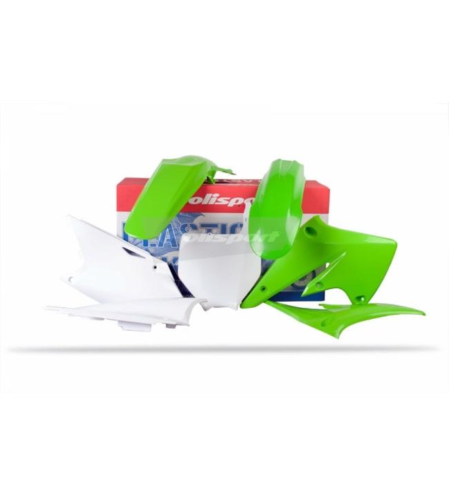 Polisport plastic kit KX250F 04-05