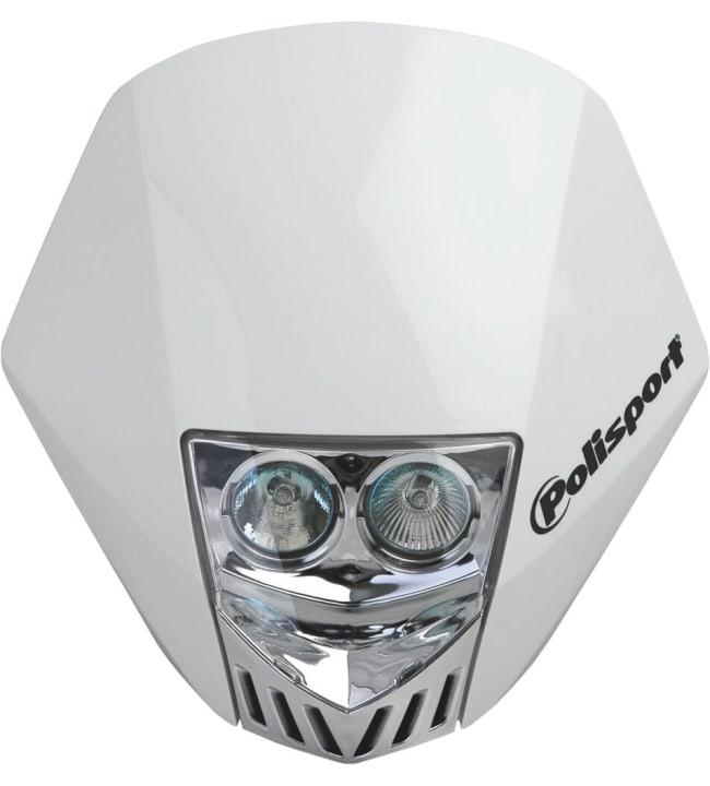 Polisport HMX LED valomaski valkoinen