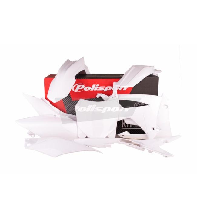 Polisport plastic kit CRF250 14-/CRF450 13- White