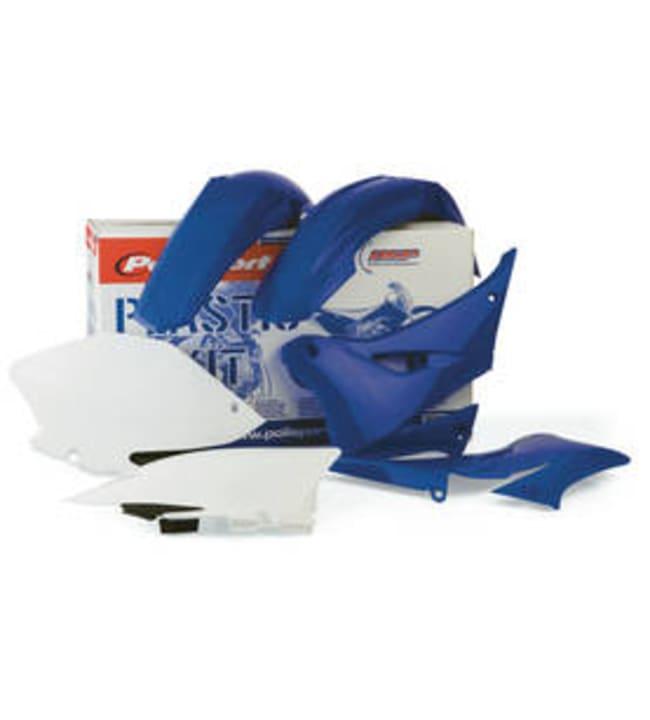 Polisport plastic kit YZ250F/YZ450F 14-15 white