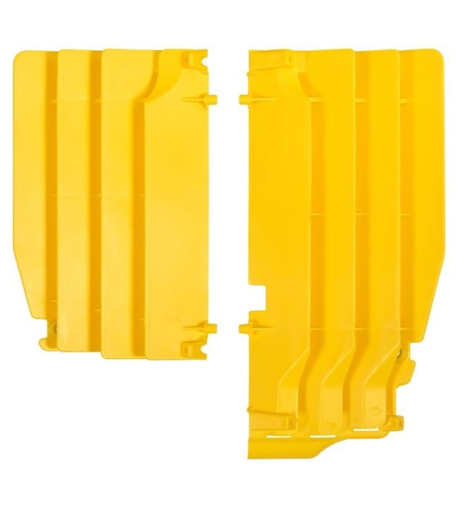 Polisport jäähdyttäjän ritiläpari RMZ250 10-16 keltainen