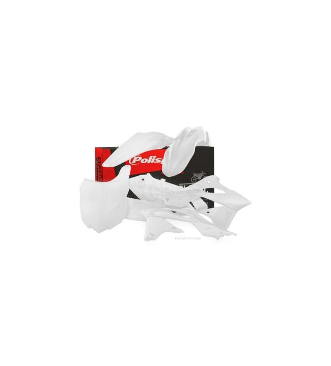 Polisport plastic kit KX450F 16-18 White