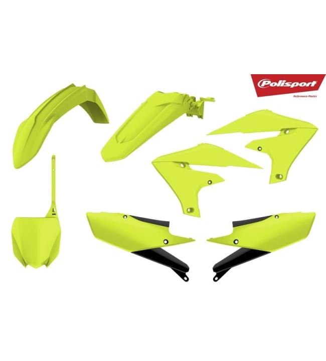 Polisport plastic kit YZ450F 18 Flo yellow