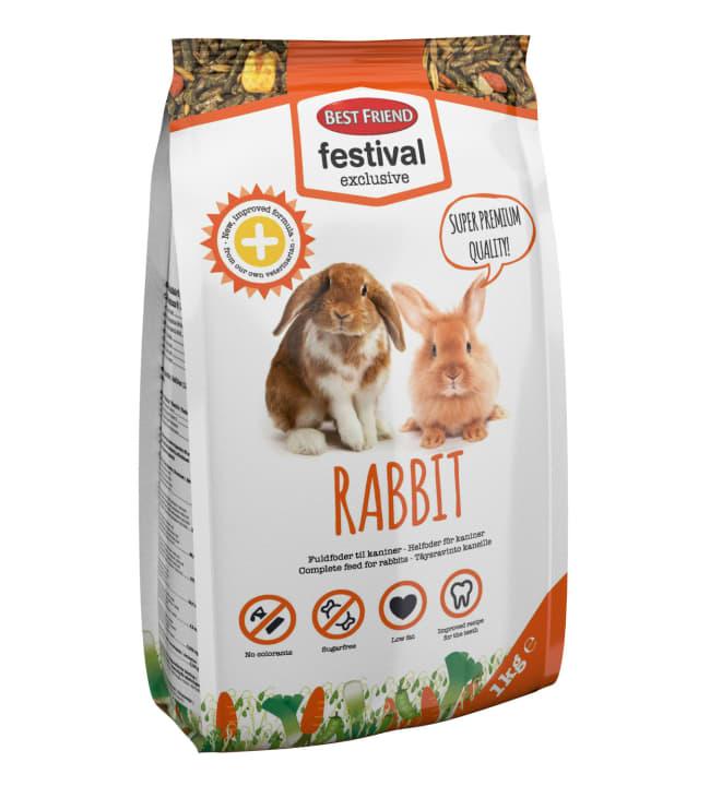 BF Festival Exclusive rabbit 1 kg kanin täysravinto