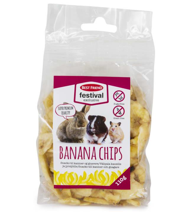 Best Friend Festival Exclusive 110 g banaanisipsit
