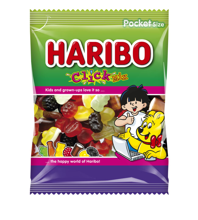 Haribo Click Mix 80 g karkkipussi