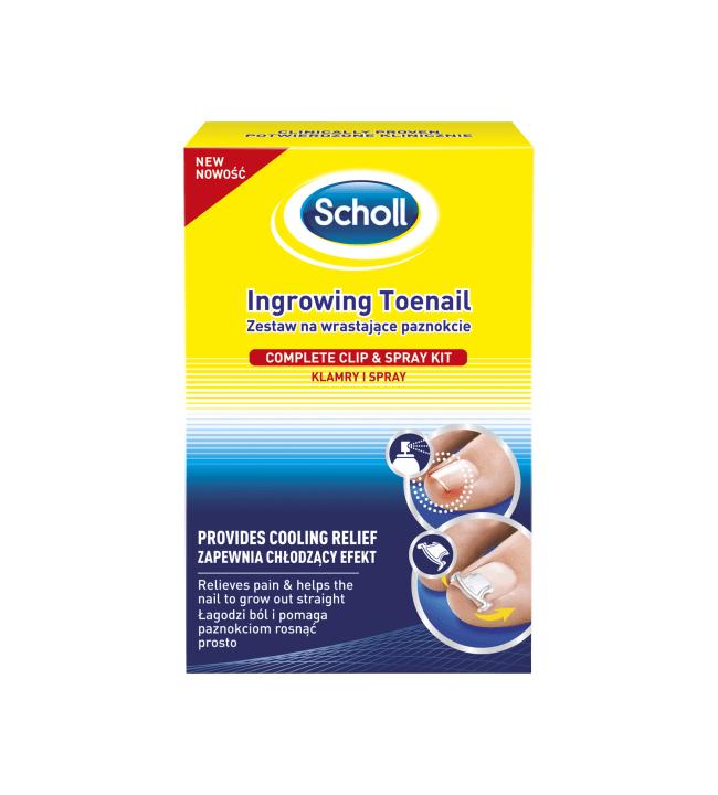 Scholl sisäänkasvaneen kynnen hoitosetti