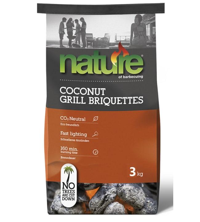 Nature 3 kg Basic briketit