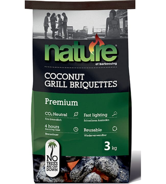 Nature 3 kg Premium briketit