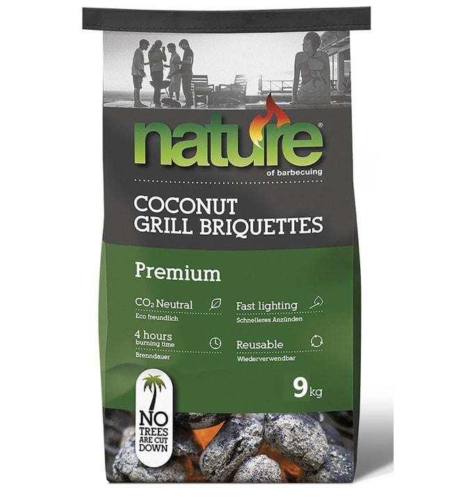 Nature 9 kg Premium briketit