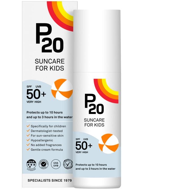 P20 SPF50+ 100 ml lasten aurinkosuoja
