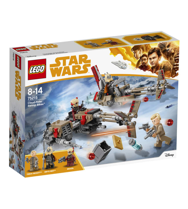 LEGO Star Wars 75215 Cloud-Rider Swoop Bikes pyörät
