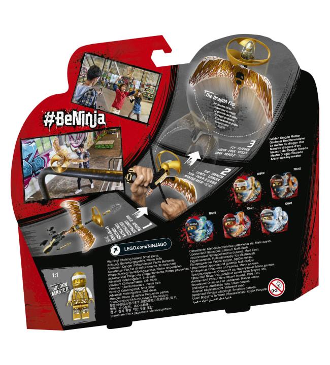LEGO Ninjago 70644 Kultainen lohikäärmemestari