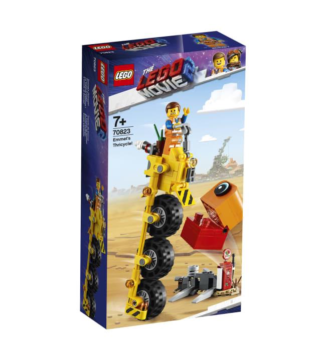 LEGO 70823 Emmetin kolmipyörä!