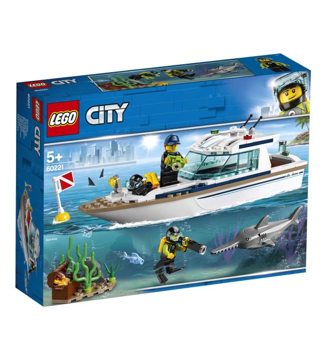 LEGO City 60221 Sukellusjahti