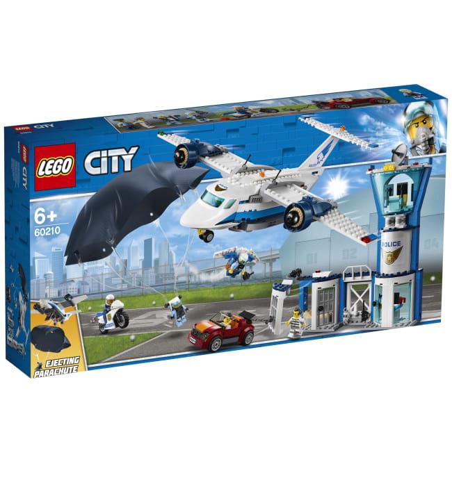 LEGO 60210 City Police Taivaspoliisin lentotukikohta
