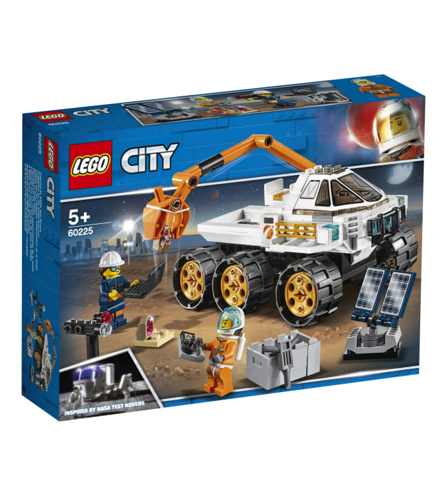 LEGO 60225 City Space Port Maasturin koeajo