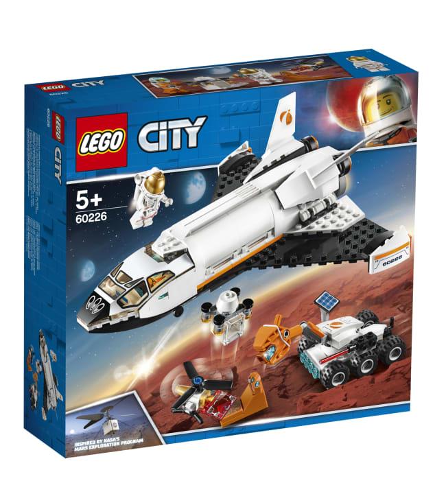 LEGO 60226 City Space Port Marsin tutkimussukkula