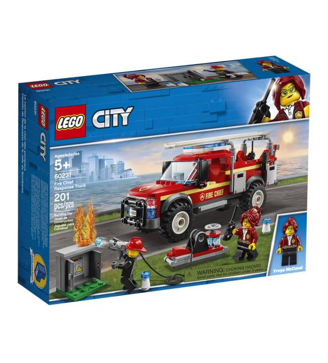 LEGO 60231 City Town Palopäällikön auto