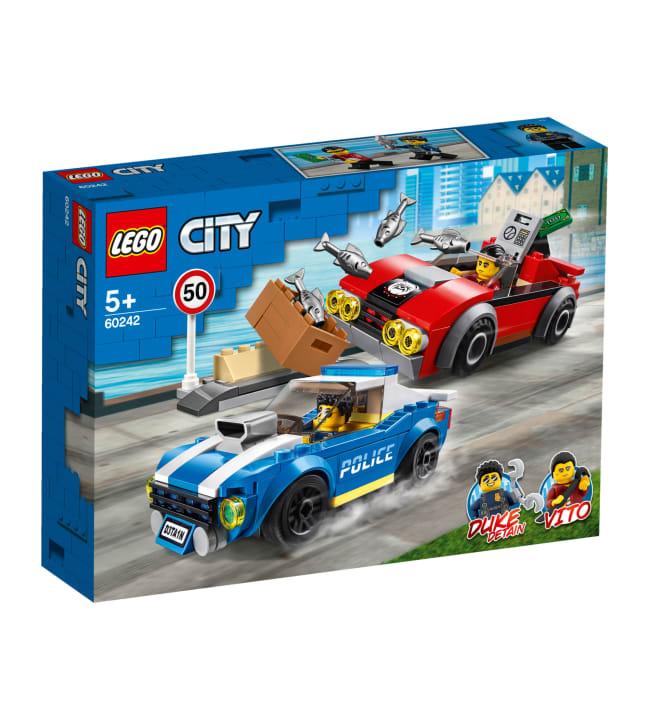 LEGO City Police 60242 Pidätys maantiellä