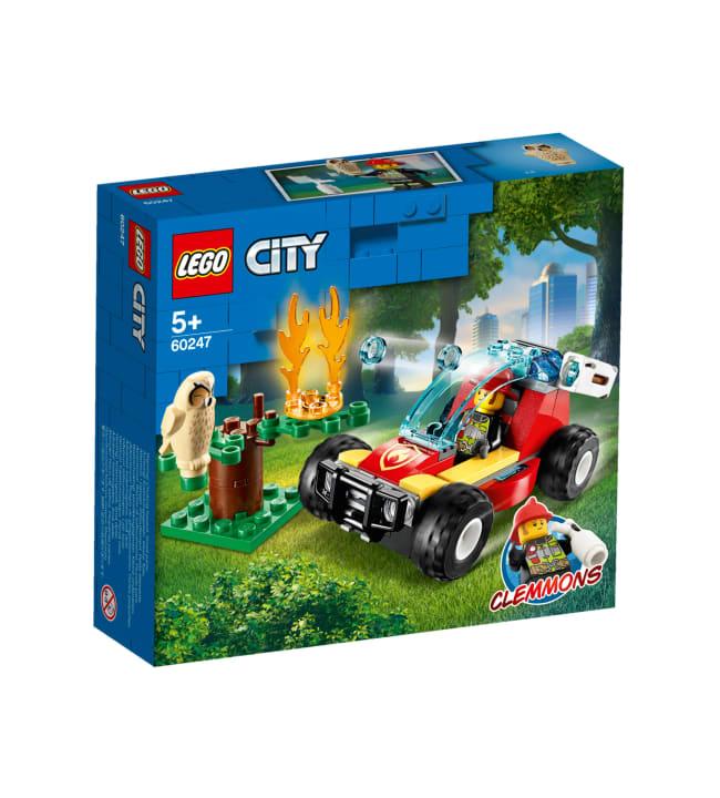 LEGO City Fire 60247 Metsäpalo