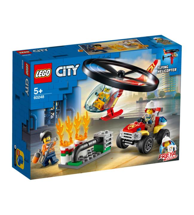 LEGO City Fire 60248 Palokunnan helikopteriyksikkö