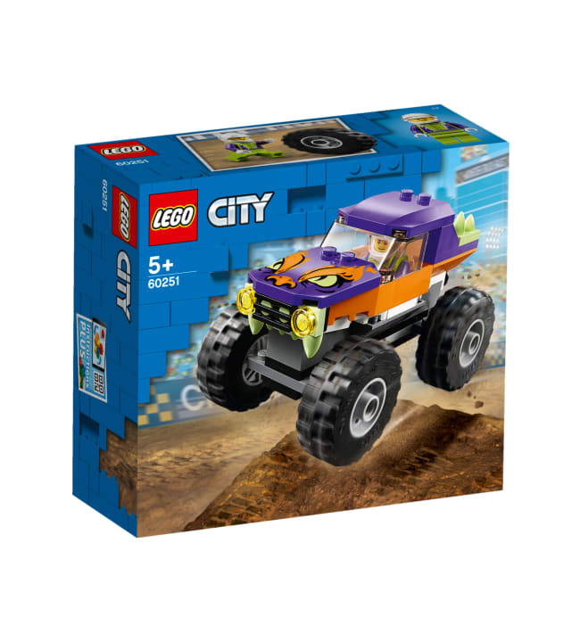 LEGO City Great Vehicles 60251 Monsteriauto