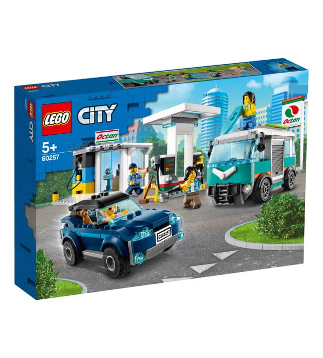 LEGO City Turbo Wheels 60257 Huoltoasema