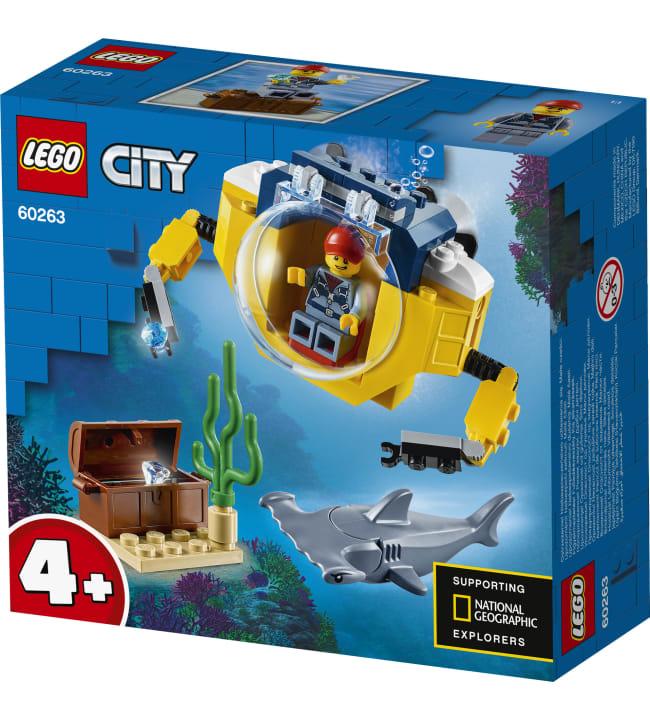LEGO City Oceans 60263 Valtameren minisukellusvene