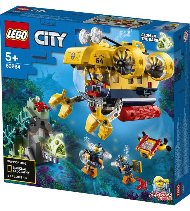 LEGO City Oceans 60264 Valtameren tutkimussukellusvene