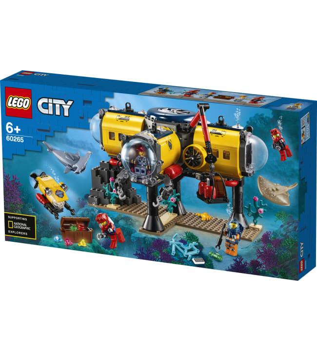 LEGO City Oceans 60265 Valtameren tutkimustukikohta