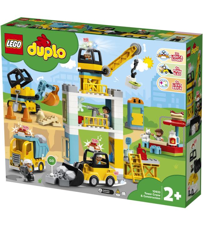 LEGO DUPLO Town 10933 Torninosturi ja rakennustyömaa