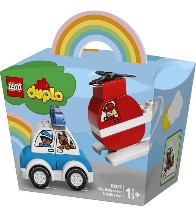 LEGO DUPLO My First 10957 Sammutushelikopteri ja poliisiauto