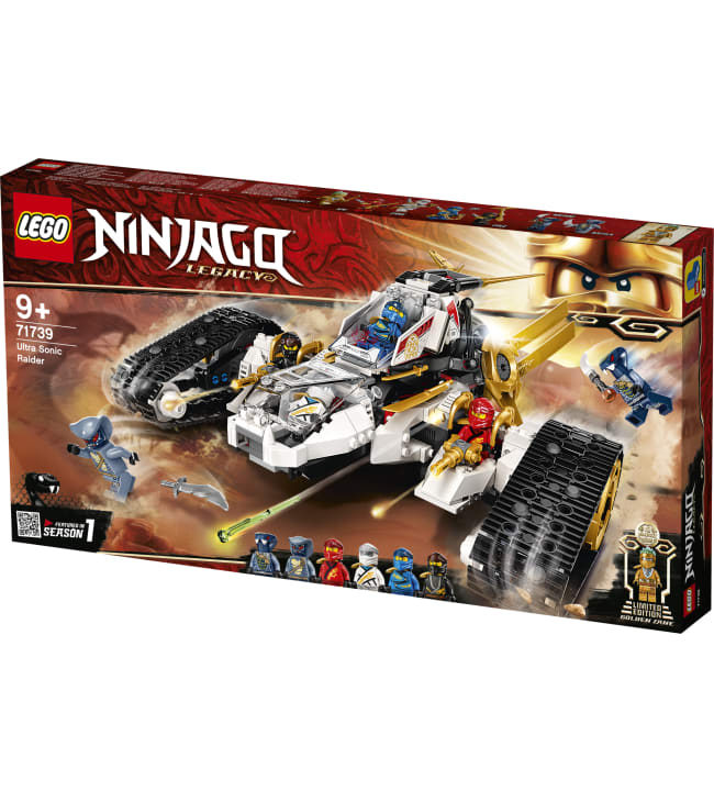 LEGO Ninjago 71739 Yliäänirynnäkköalus
