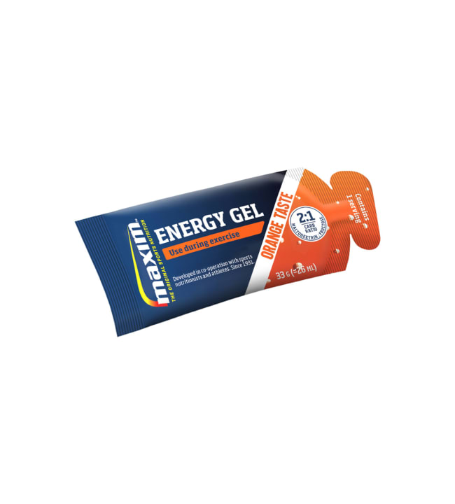 Maxim Energy Gel orange single 33 g energiageeli
