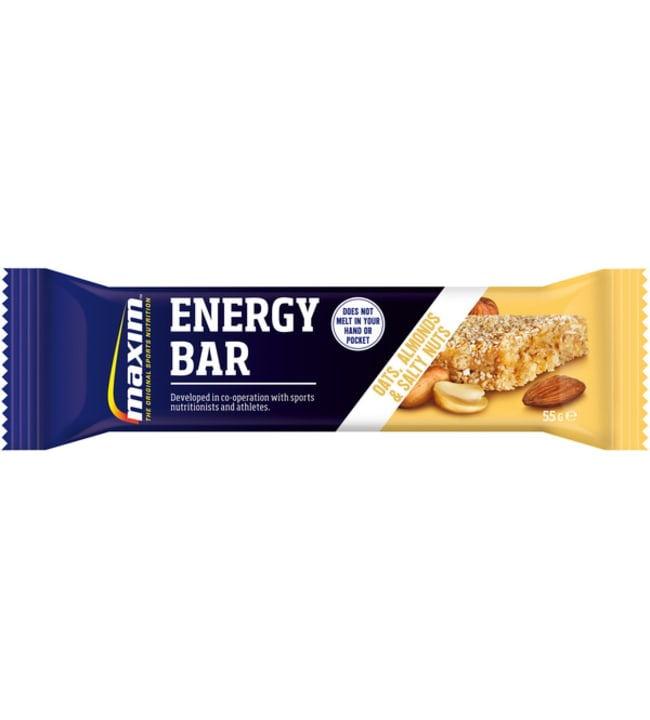Maxim Energy Bar Oats, Almonds & Salty nuts 55 g energiapatukka