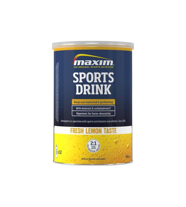 Maxim Sports Drink Fresh Lemon 480 g urheilujuomajauhe