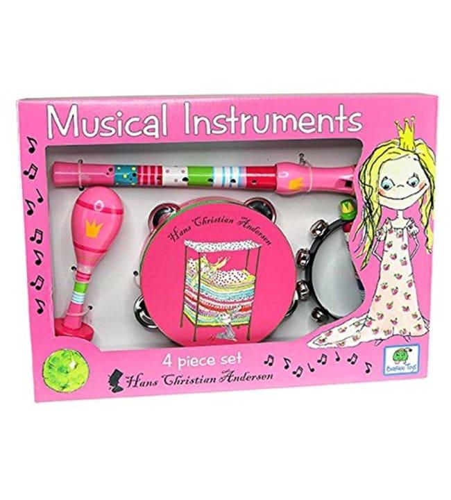 Barbo Toys 4-osainen prinsessa soitinsetti