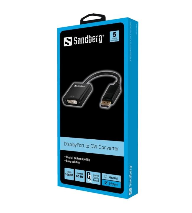 Sandberg DisplayPort to DVI sovitin
