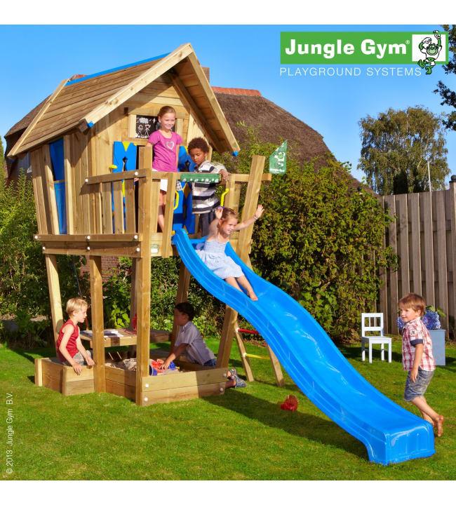 Jungle Gym Crazy Playhouse-leikkitorni
