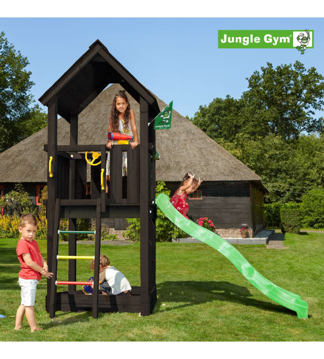 Jungle Gym Club  leikkitorni sis. liukumäen