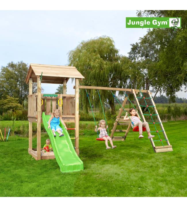 Jungle Gym Casa leikkitorni ja Climb Module Xtra