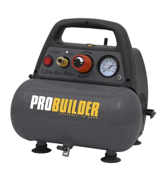 Probuilder 6l öljytön kompressori