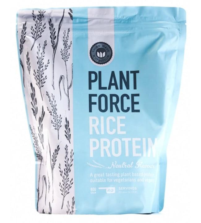 Plantforce 800 g maustamaton riisiproteiini