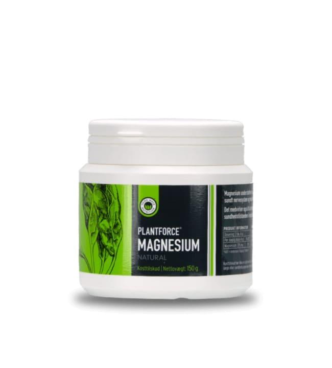 Plantforce  150 g maustamaton Magnesium ravintolisä