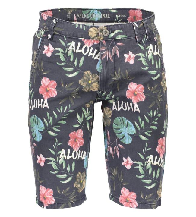 Shine Aloha Stretch Chino miesten shortsit